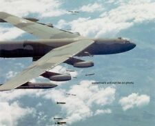 "U.S. Air Force Boeing B-52D Stratofortress at work 8""x 10"" Vietnam War Photo #54"