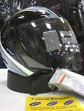 CASCO AGV PLANET STRIPES DARK S MOTORCYCLE HELMET HELM CASQUE AGV