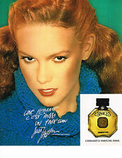 PUBLICITE ADVERTISING 064  1978  CHERAMY  parfum ESPACES par JUST JAEKIN