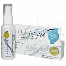 Authentic Whitelight Sublingual L-Glutathione Skin Lightening Spray - BEST PRICE