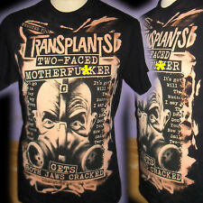 TRANSPLANTS RANCID 100% UNIQUE PUNK  T SHIRT MEDIUM  BAD CLOWN CLOTHING