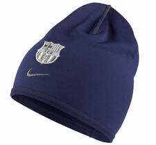 NIKE FC BARCELONA TRAINING BEANIE ONE SIZE Blue Silver