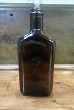 "COLLECTABLE "" SEAGRAMS 7 "" OLD BROWN WHISKEY BOTTLE."