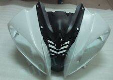 Front cowl cover nose upper fairing For YAMAHA 2008-2014 YZF R6 unpainted 2008