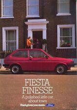 Ford Fiesta Festival Mk 1 UK market original sales brochure c.1980