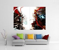 MEDIEVALE AVENGERS THOR IRON MAN GIGANTE WALL ART PICTURE PRINT PHOTO POSTER J119