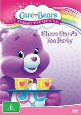 Care Bears - Welcome To Care-A-Lot - Share Bear's Tea Party (DVD) *NEW & SEALED
