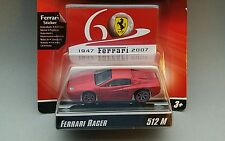 Hot Wheels Racer Ferrari 512 M 60s Anni Satin Red