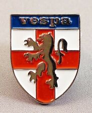 Metal Enamel Pin Badge Brooch Vespa Scooters England Shield St George Lion