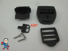 1 Spa Hot Tub Cover Latch Strap Repair Kit & Key Hot Spring Caldera Video How To