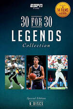 ESPN Films 30 for 30 - Legends Collection DVD Brand New Ships Worldwide