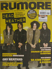 RUMORE 210 2009 Dead Weather Jay Reatard Church Of Misery Minutemen Madaski