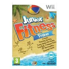 JUNIOR FITNESS TRAINER=NINTENDO Wii=FIT BOARD COMPATIBLE=U=DANCE=SURF=RACE=JUMP