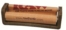 RAW Hemp Coated Plastic Cigarette Tobacco Rolling Machine King Size 110MM Roller