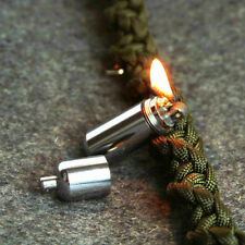 EDC Gear Fire Stash Waterproof Mini Survival Lighter Camping Pocket Keyring Tool
