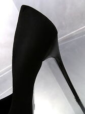 Unique Schwarz Classic Damen Sexy Stiletto High Heels J97 Black Pumps Schuhe 38