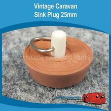 Caravan Sink Plug 25mm Vintage Viscount Millard Franklin Camper Trailer  Pop Top