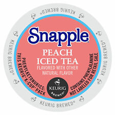Snapple Peach Iced Tea K-Cup  22/box