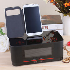 Bluetooth Speaker NFC System Alarm Clock FM Digital Radio Charging Dock Android