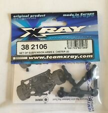 XRAY 1/18th Scale Set of Suspension Arms 6 Caster (2) M18  XRA382106