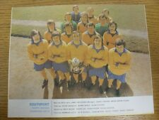 1973/1974 Football League Review: Vol 8 No 01 - Colour Picture - Southport . Con