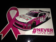 "2016 KEVIN HARVICK ""NEVER GIVE UP HUNT BROS PIZZA"" #88 NASCAR XFINITY POSTCARD"