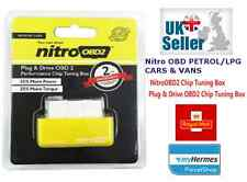 Nitro OBD2 Chip Tuning Box BMW AUDI MERCEDES VOLKSWAGAN ALL PETROL ENGINES
