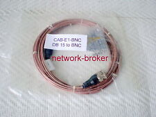 CISCO CAB-E1-BNC E1 BNC CABLE 75 OHM 3 METERS