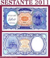 EGYPT EGITTO - 10 PIASTRES L. 1940 ND 2006 Sign Ghali  -   P  NEW   - FDS / UNC