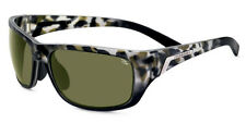 SERENGETI SUNGLASSES ORVIETO 7754 POLARIZED BLACK  TORTOISE PHD 555