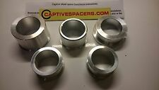 Yamaha YZF R1 R1M 2015 2016 2017 Captive wheel Spacers. Superbike lightweight.