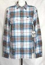 Obey - Men's L - NWT - Multi-Color Plaid 100% Cotton - Woven Button-Down Shirt