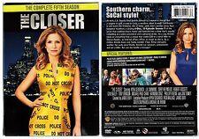 THE CLOSER - Intégrale saison 5 -  VOST - Coffret 1 boitier Classique - 4 DVD