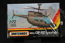 YN130 MATCHBOX 1/72 maquette helicoptere 40043 Bell OH-58D Aeroscout