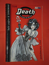 SANDMAN- PRESENTA- DEATH- a casa di death- DI:JILL THOMPSON- EDIZIONI MAGIC PRES