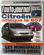 L'AUTO-JOURNAL de 07/2000; Essai Comparatif Monospaces Compacts Diesel/ 607