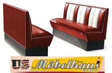 HW-150-Ruby American Dinerbank Sitzbank Diner Bänke Möbel USA Style Gastronomie