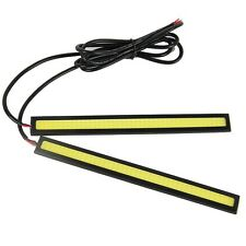 2pcs 12V 84 LED COB Car Auto DRL Driving Daytime Running Lamp Fog Light 17cm