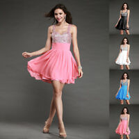 New Homecoming Bridesmaid Birthday Party Formal Prom Cocktail Ball Evening Dress