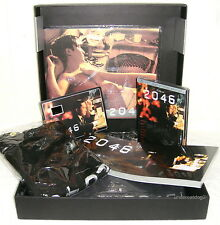Wong Kar-Wai 2046 Taiwan Ltd 2-DVD+female T-shirt+Tony Leung card+BOOK+OST BOX