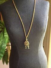 Star Wars Jewelry C-3PO 1977 Original/Authentic Necklace - VINTAGE