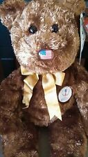 """TY Beanie Buddy Large 15"""" Tall CHAMPION USA FIFA Bear NEW Condition Retired 2002"""