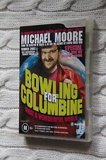 Bowling For Columbine (DVD, 2003), 2 disc set.  Like new, free shipping