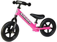 Genuine STRIDER™ 12 Sport No-Pedal Learn to Ride Kids Balance Pre Bike PINK