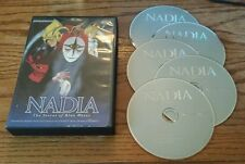 Nadia: The Secret of Blue Water - Collection 1 (DVD, 5-Disc) anime Episodes 1-20