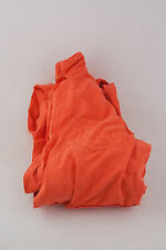 Safety Orange Cotton Overalls SMUD 2XL Industrial Garment Manufacturing Utility