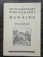 FALCONRY HAWKS HAWKING BIBLIOGRAPHY BOOKS FALCONS BIRDS HUNTING