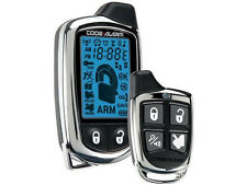 NEW Code Alarm  THE BEST  CHROME METAL 2WAY TRANSMITTER SECURITY KEY LESS ENTRY