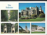 Nottinghamshire Postcard - Views of Thoresby Hall and The Dukeries LC4454