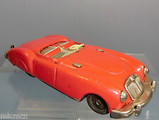 "VINTAGE  TINPLATE  FRICTION  ""SANSHIN"" MODEL OF A MGA ""SOFT TOP""  SPORTS CAR"